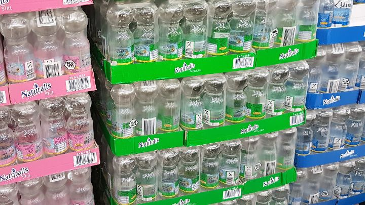 Netto Mineralwasser - Naturalis still, medium und classic